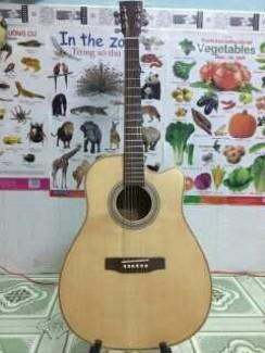 Acoustic Guitar DJ120 đàn mới, bh 12t