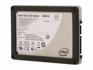 Ổ Cứng SSD Intel 320 Series 600 GB SSD, SSD intel 600GB,Intel 320 600GB 7mm