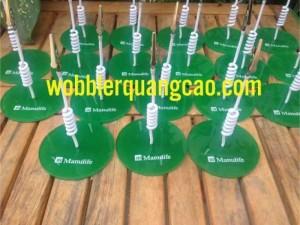 Wobbler bảo hiểm Manualife, wobbler quảng cáo, wobbler để bàn, mẫu wobbler, wobbler giá rẻ...