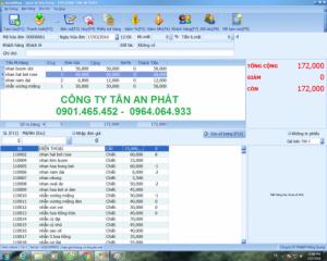 Máy Tính Tiền, máy đọc mã vạch sp cho Siêu Thị Mini tại Cà Mau