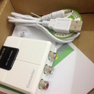 Bộ chuyển hình ảnh Video (AV) ra HDMI chính hãng Ugreen 40225