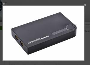 Bộ gộp hình ảnh HDMI 5 vào 1 ra Ugreen 40205