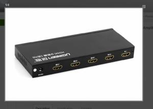 Bộ chia màn hình HDMI 1 ra 4  Ugreen 40202