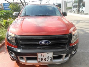 Bán Ford Ranger Wiltrack sx 2013 màu cam canopy