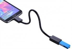 Dây chuyển micro USB 3.0 OTG cho Samsung Note 3, Note 4,S5 chính hãng 10801