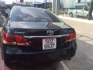 Cần Bán xe Toyota Camry 2007, máy xăng, số tự động, đứng tên cá nhân.