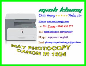 Bán Máy Photocopy CANON IR 1024
