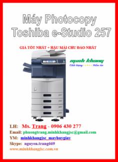 Bán máy photocopy Toshiba E-Studio 257, Máy photocopy Toshiba e-Studio257 giá rẻ
