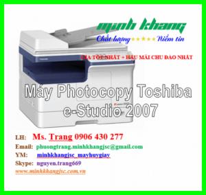 Máy Photocopy Toshiba E 2007 mới giá rẻ, Máy photocopy Toshiba e-Studio 2007