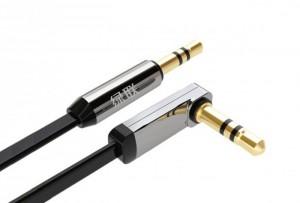 Cáp audio 3,5mm dài 3m đầu bẻ góc 90 độ chính hãng Ugreen 10728
