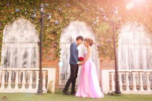 Chụp album cưới chuyên nghiệp tại phim trường giá tốt
