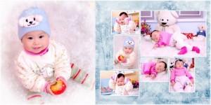 Chuyên chụp hình em bé cực dễ thương