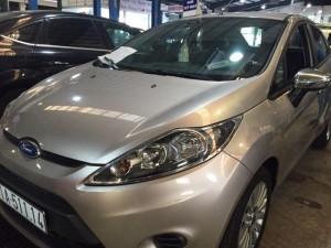 Bán Ford Fiesta 1.6 AT_sedan sx 2013 màu ghi vàng
