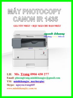 Máy photo canon ir 1435, bán máy photocopy MINI canon ir1435 chính hãng