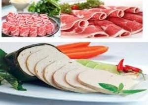Máy thái thịt tươi sống SS70, HO70, Máy thái thịt lợn thịt bò giá rẻ