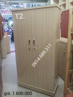 Tủ đựng quần áo gỗ ép