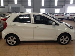 Bán Kia Morning MT 2016, màu trắng, hỗ trợ mua xe tự lái trả góp 80%