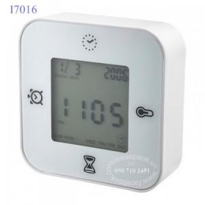 Đồng hồ  4 trong 1: hiện giờ, đo nhiệt độ, hẹn giờ, bấm giây