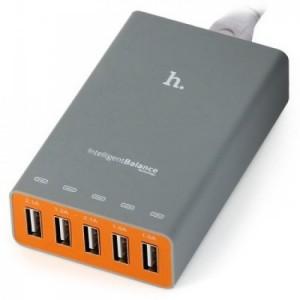 Bộ sạc điện thoại 5 cổng USB HOCO UH502