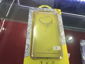 Ốp lưng dẻo trái tim cho IPhone 6