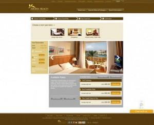 Thiết kế website khách sạn, nhà hàng - Bảng giá Domain Hosting