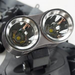 Đèn xe đạp - đèn đeo trán d30