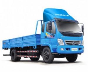 Olin 800A thùng dài 6,9m tải trọng 8 tấn giá 560.900.000 thùng mui bạt
