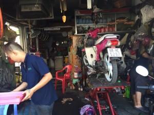 Sửa xe máy ở đâu tại Bình Thạnh.