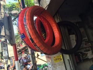 Thay lốp,vỏ xe ở đâu tại Bình Thạnh.