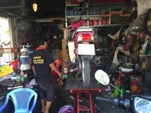 Chuyên thay thế phụ tùng,sửa chữa xe máy uy...