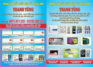 Lắp đặt, sửa chữa, bảo dưỡng, mua bán thiết bị điện tử - điện lạnh tại nhà