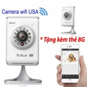 CAMERA IP FUNLUX chống trộm - hàng nhập trực tiếp từ USA giá tốt nhất