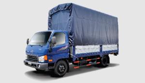 Xe HD 500 tải trọng 5 tấn giá 615.000.000 thùng mui bạt