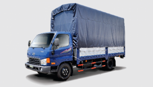 Xe HD 650 tải trọng 6.4 tấn giá 647.900.000 thùng mui bạt
