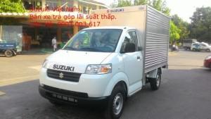 Xe tải Suzuki Pro 750kg thùng kín, Bán xe trả góp vay đến 100% giá trị xe.