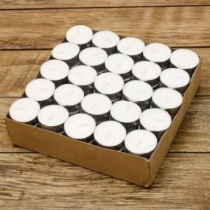 Nến tealight trắng hộp 50 viên