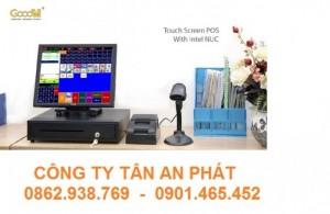 Bộ Máy Bán Hàng Cảm Ứng GoodM 15inch - Phần mềm quản lý Tính Tiền