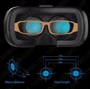- Điểm thứ 4: Kính VR Box Version 2 hỗ trợ hoàn hảo cho người dùng bị cận thị, người dùng có thể vừa đeo kính cận, vừa giải trí với kính thực tế ảo hoàn toàn thoải mái mà không bị mỏi mắt Bên cạnh đó, kính còn cho phép điều chỉnh khoảng cách giữa 2 mắt, điều chỉnh tiêu cự xa gần, tính năng rất tiện lợi mà GR BOX đã có từ phiên bản trước. Mặt tiếp xúc của hộp kính với khuôn mặt được thiết kế rất mềm mại, tạo cảm giác thoải mái khi đeo kính ngay cả khi bạn đang dùng kính cận. Điểm thứ 5: Kính VR Box Version 2 được phân phối và bảo hành chính hãng tại VNTVBOX, nơi bạn có thể mua kính chất lượng và được bảo hành, hướng dẫn sử dụng chu đáo.