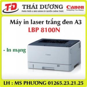 Máy in Canon LBP8100N in trắng đen A3 , giá tốt nhất !