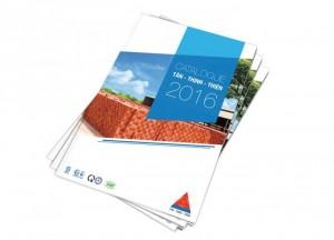Thiết kế in ấn Catalogue thể hiện đẳng cấp doanh nghiệp