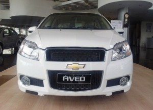 Chevrolet Aveo LT dòng Sedan 5 chỗ. Chương...