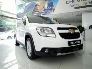 Chevrolet Orlando Ltz phiên bản 7 chỗ tiện...