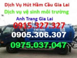 Chuyên hút hầm cầu, sửa chữa, thông cầu cống nghẹt. Dịch vụ nhanh 24h tại Gia Lai. có hóa đơn GTGT. Có bảo hành.