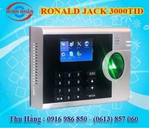 Máy chấm công Đồng Nai Ronald Jack 3000T - lắp đặt tại Định Quán