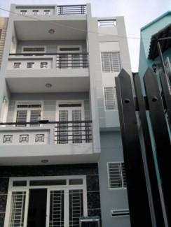 Cho thuê nhà mặt phố đường Tên Lửa, P.An Lạc A, Quận Bình Tân, DT: 5x20m, diện tích: 300m2, 3 lầu
