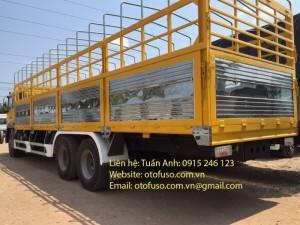 Xe tải Fuso FJ24 - 3 chân - 15 tấn