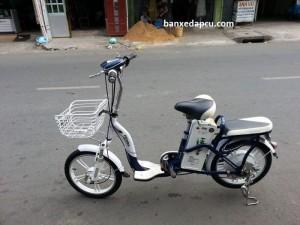 Xe đạp điện cũ HK BIKE,mới 95%,xài pin,bảo hành 1 năm.Khách hàng có nhu cầu xin vui lòng liên hệ Mr Hải 0989967400,YH:kien_a2000.Cửa hàng xe đạp Queen Bike 305 Bùi Hữu Nghĩa,P1,Bình Thạnh,HCM.