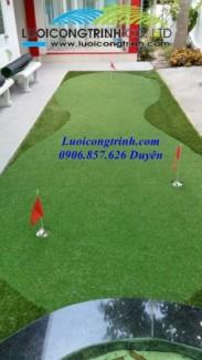 Cung cấp thảm tập golf mini cho gia đình