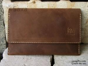 Ví da – In logo quà tặng doanh nghiệp giá tại xưởng TPHCM