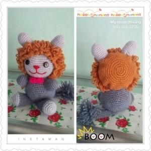 Baby lion handmade